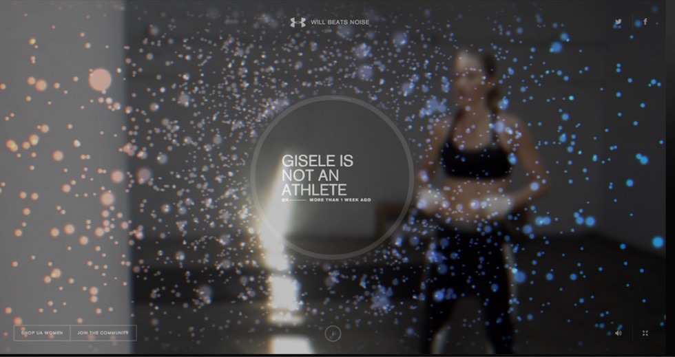 Under Armour: Giselle: I Will What I Want